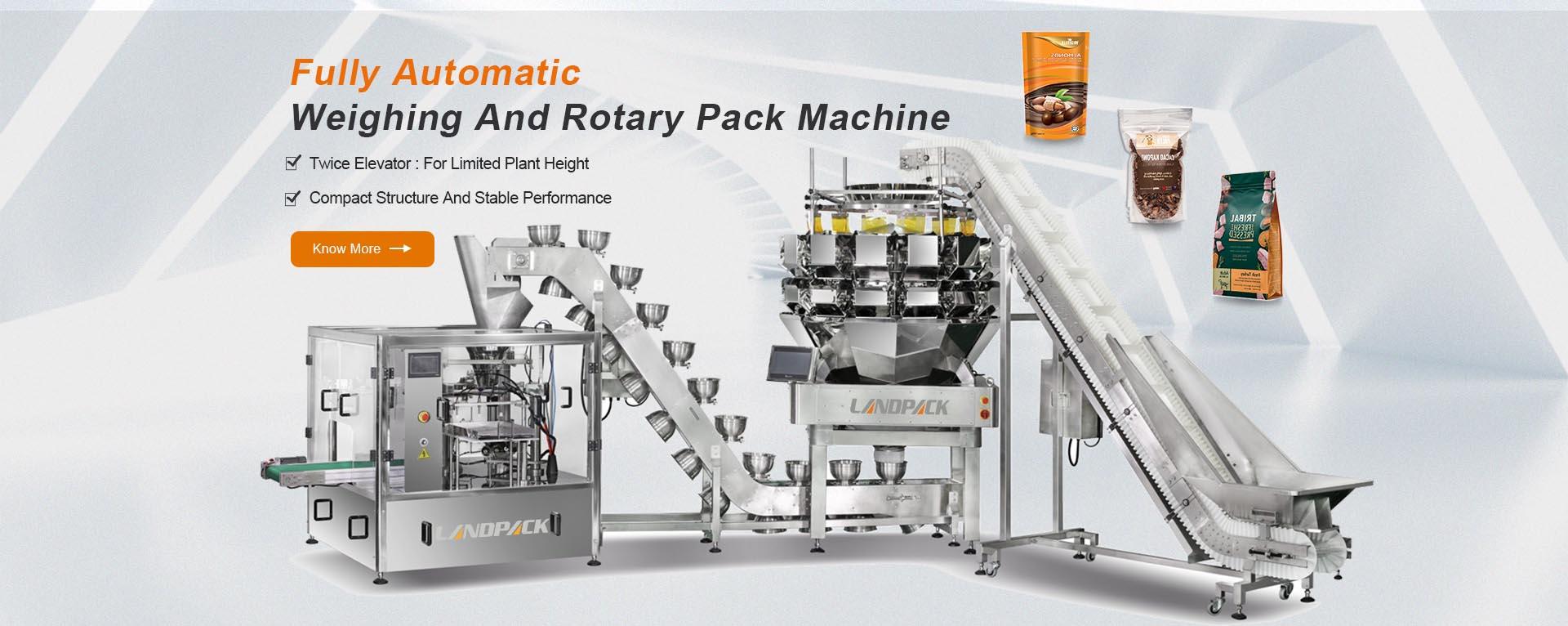 rotary pack machine