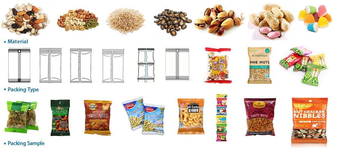 Automatic Packaging Machine With Measuring Cups Equipment