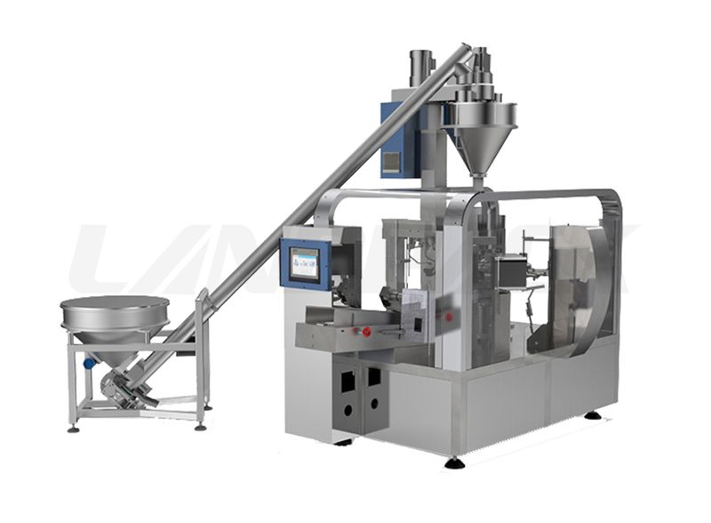 Automatic Powder Pre-made Bag Filling Packaging Machine