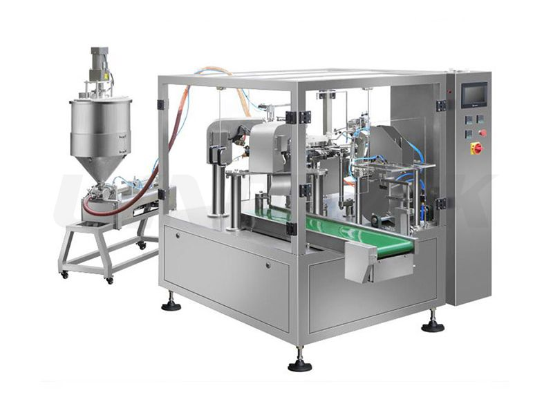 Automatic Liquid Premade Pouch Filling Packing Machine
