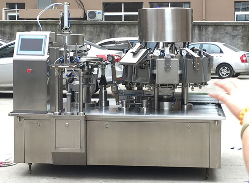 High Speed Vacuum Premade Pouch Packing Machine
