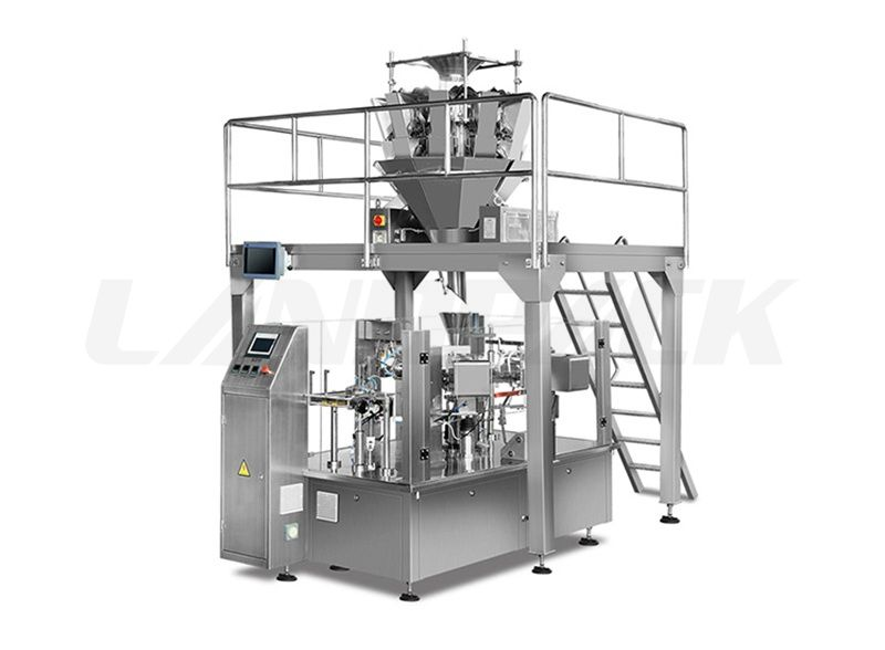 Automatic Grain Pre-made Stand up Pouch Filling Sealing Machine
