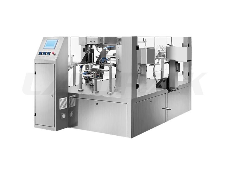 Big Premade Pouch Rotary Packing Machine