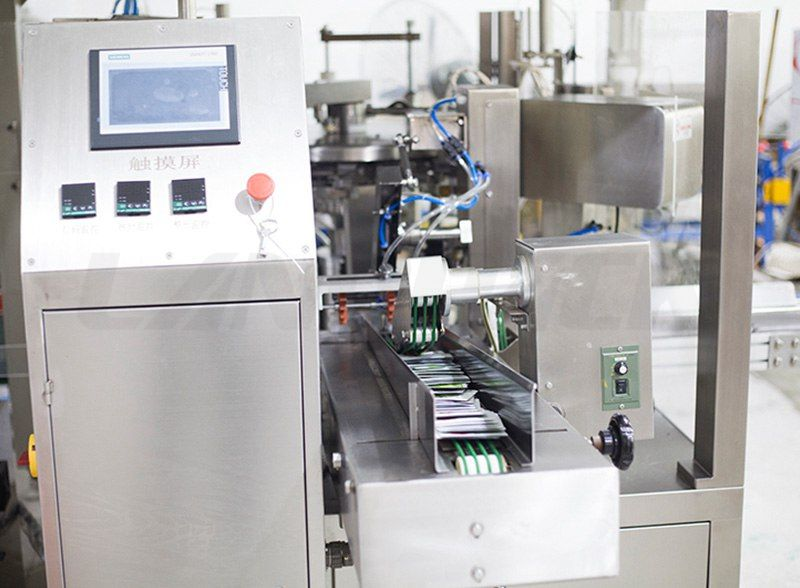 High Speed Premade Pouch Rotary Packing Machine