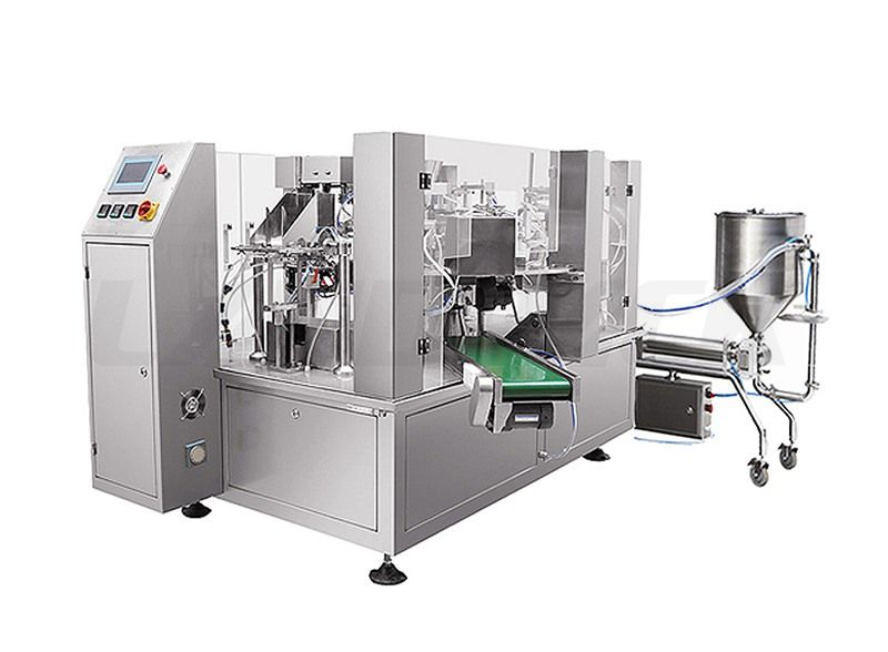 Automatic Liquid Premade Pouch Fill and Seal Machine