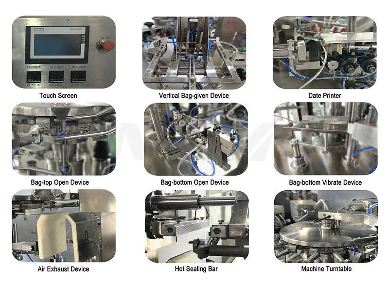 Automatic Liquid Rotary Pouch Packing Machine