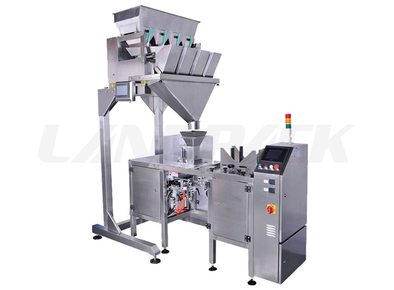 Mini Doypack Packaging Machine with 4 head weigher