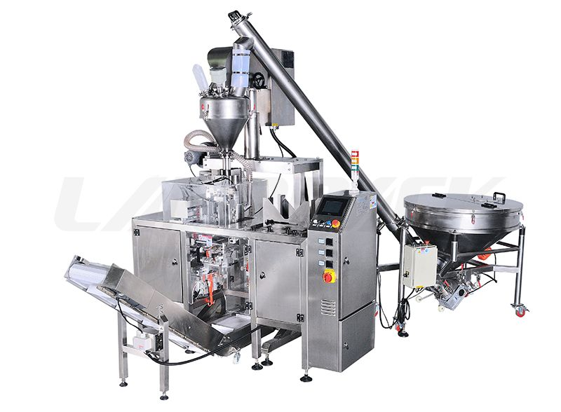 Mini Premade Pouch Packing Machine for Powder