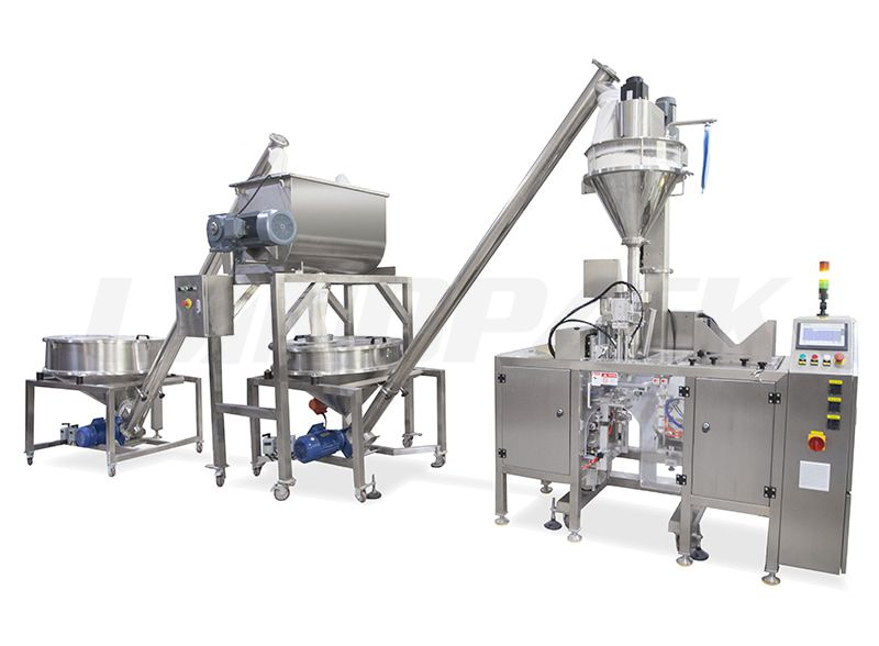 Mixed Powder Premade Pouch Packing Machine