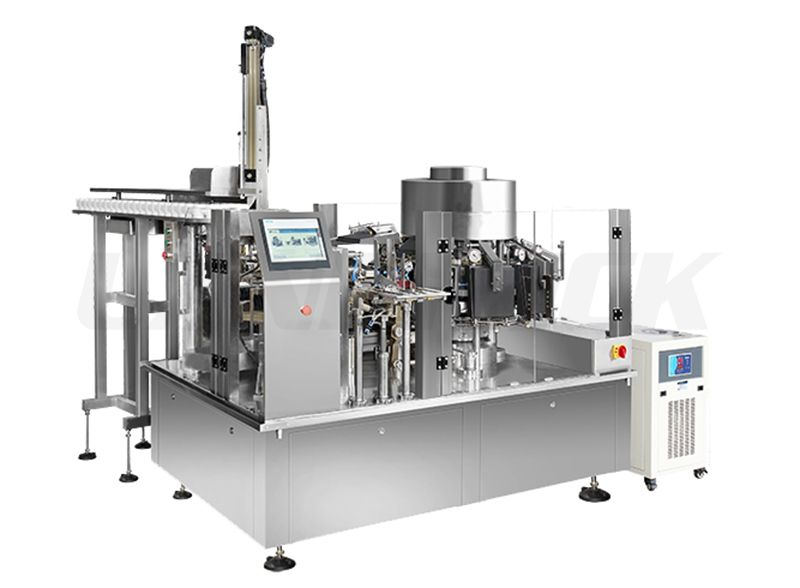 High Speed Rotary Vacuum Food Packaging Machine