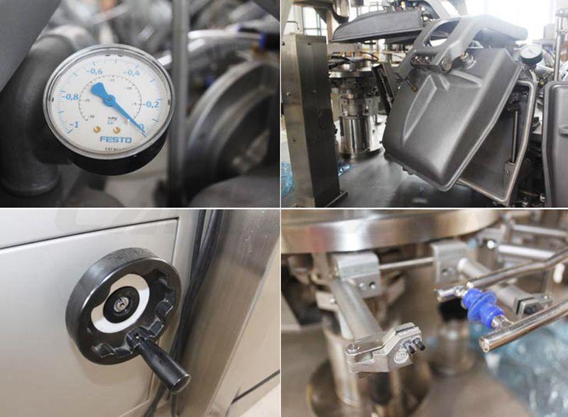 rotary heat sealing machine