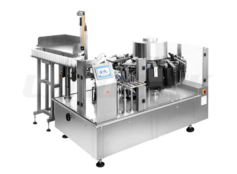 rotary vacuum packaging machine