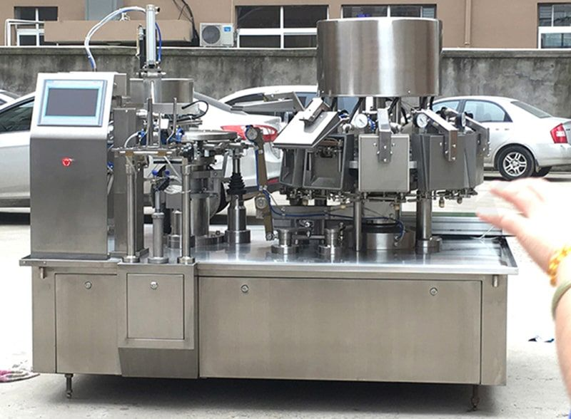 vacuum food premade pouch packing machine