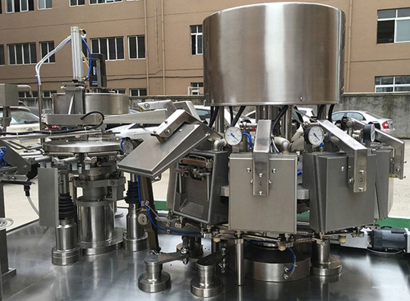 Vacuum Food Rotary Packing Machine