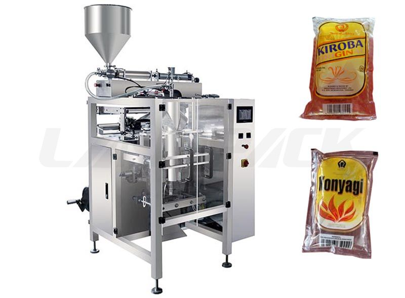 Automatic Alcohol Sachat Packaging Machine