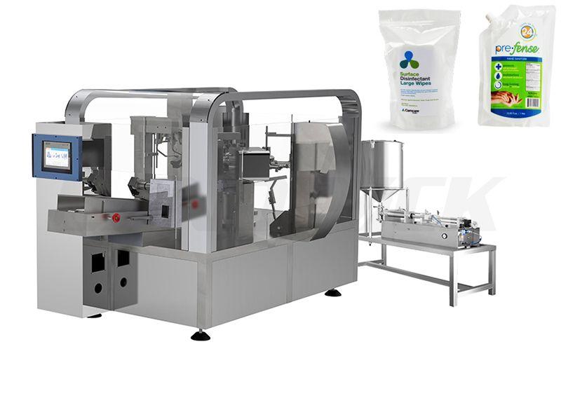 disinfectant filling machine