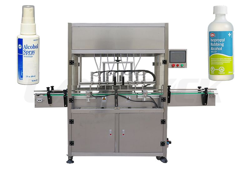 Automatic Disinfectant/ Alcohol Spray/ Hand Sanitizer Filling Machine