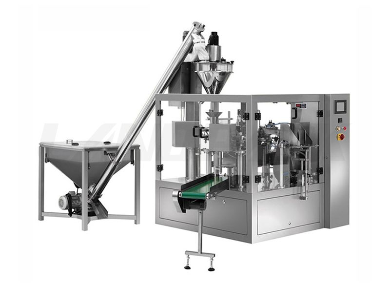Multifunction Rotary Powder Pouch Packing Machine