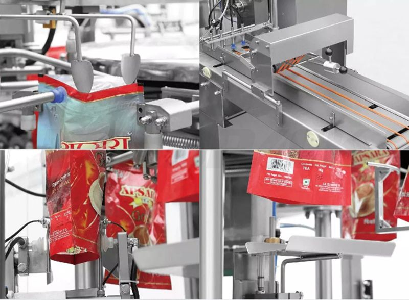 Automatic Vertical Nut Doypack Pouch Making Machine