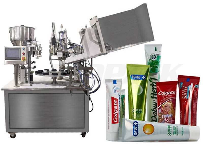 Low Cost Fully Automatic Plastic Tube Sealing Machine