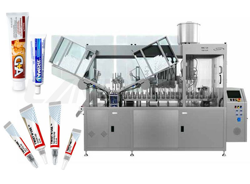 aluminium tube filling machine
