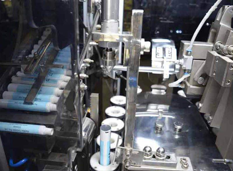lami tube filling machine