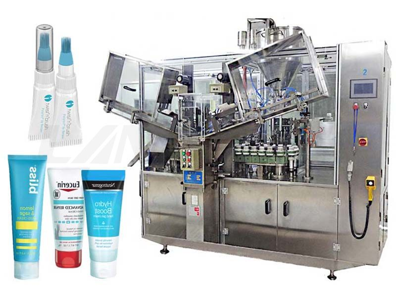 Automatic High Speed Toothpaste/ Cosmetic Tube Filling And Sealing Machine