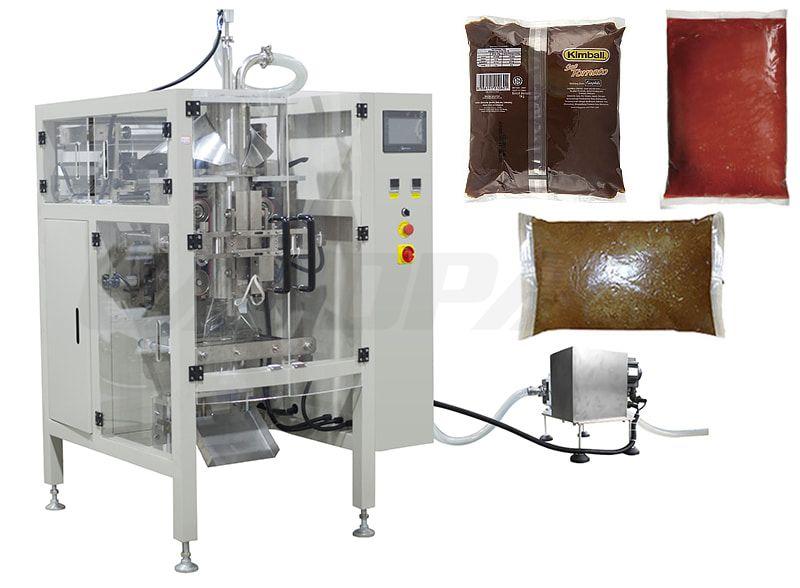 Automatic Liquid Vacuum Full Filling Pouch Packaging Machine