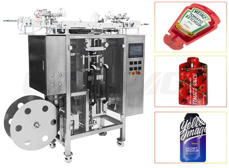 Automatic Multilane Irregular Shape Sachet Sauce/ Jam/ Ketchup Packing Machine