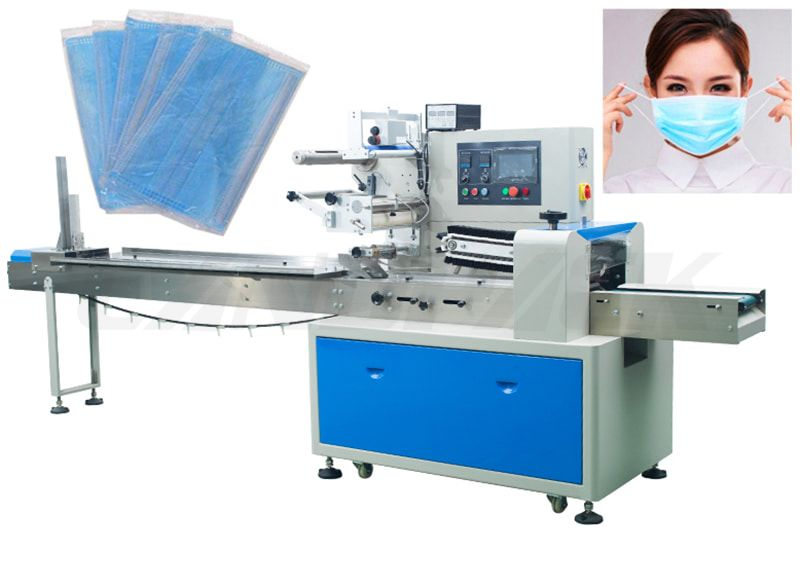 Automatic Single Piece Disposable Face Masк Packing Machine