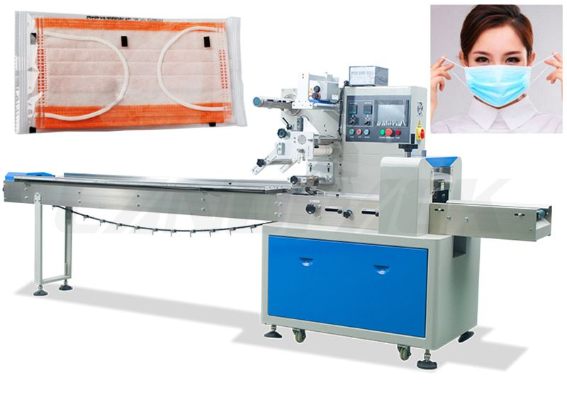 High Speed Automatic Disposable Face Masк Packing Machine