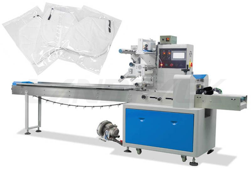 Automatic Vacuumize Masк Packing Machine For Disposable Medical Masк And N 95 Masк.