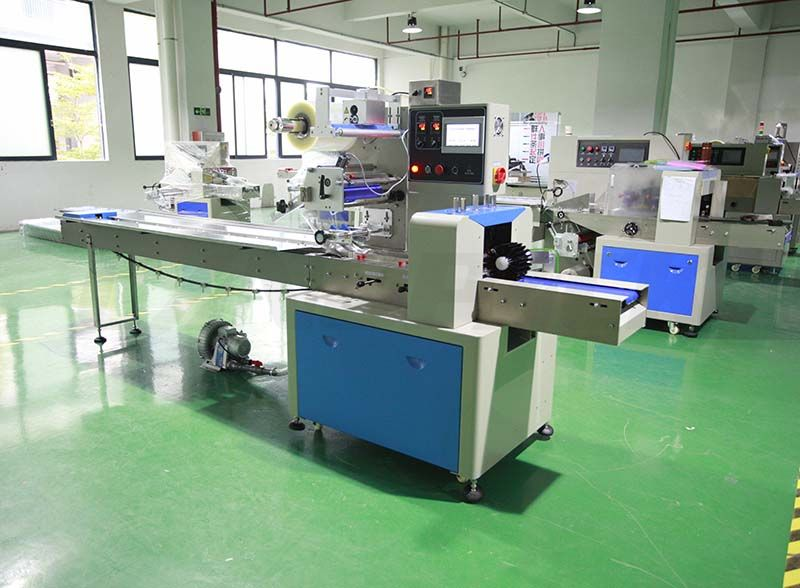 flow pack wrapping machine