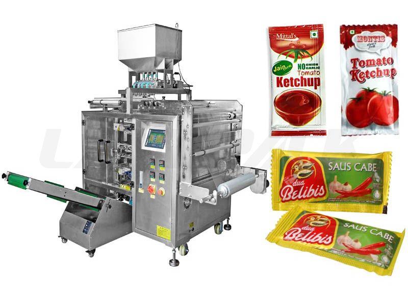 Automatic Multilane Sauce/ Jam/ ketchup Sachet Packing Machine