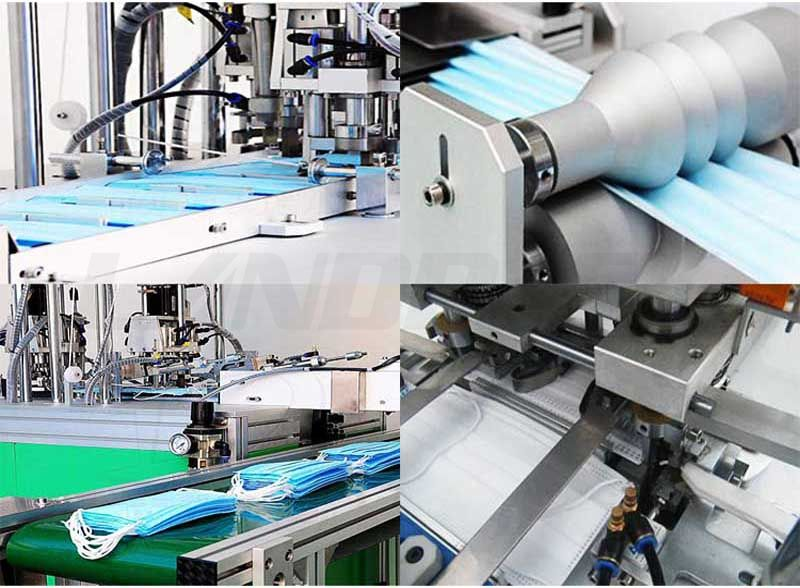 High Speed Automatic Face Masк Making Machine