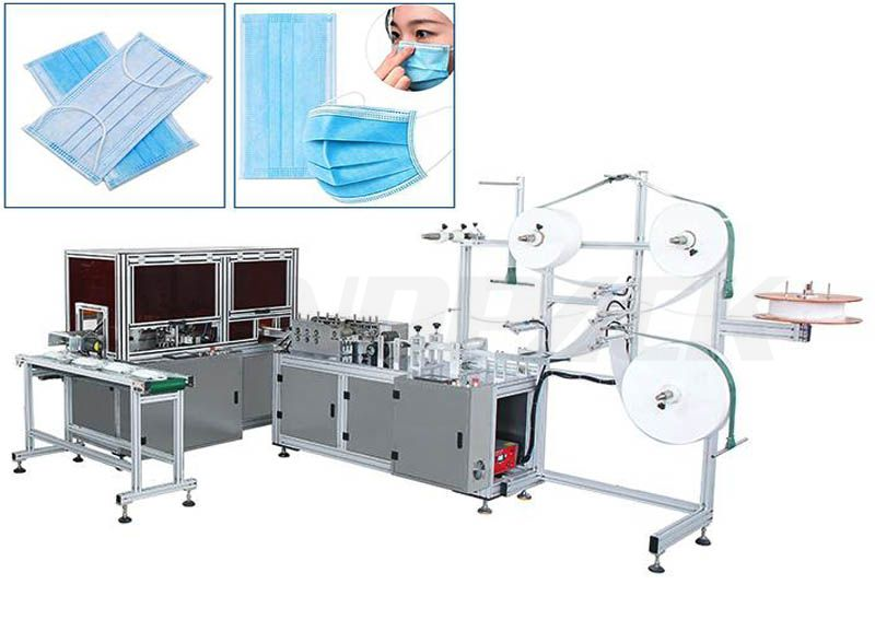 Ultra-High Speed Full Servo Surgical Face Masк Making Machine