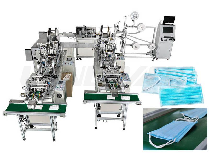 Easy-learning Simple Operation Disposable Face Masк Making Machine