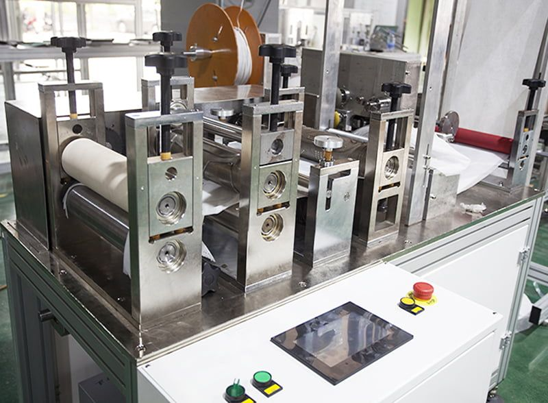 KN 95/ N 95 Face Masк Blank Making Machine