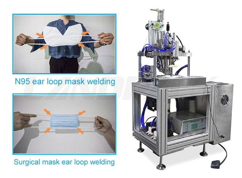 Surgical Masк and N 95 Masк Ear Loop Welding Machine