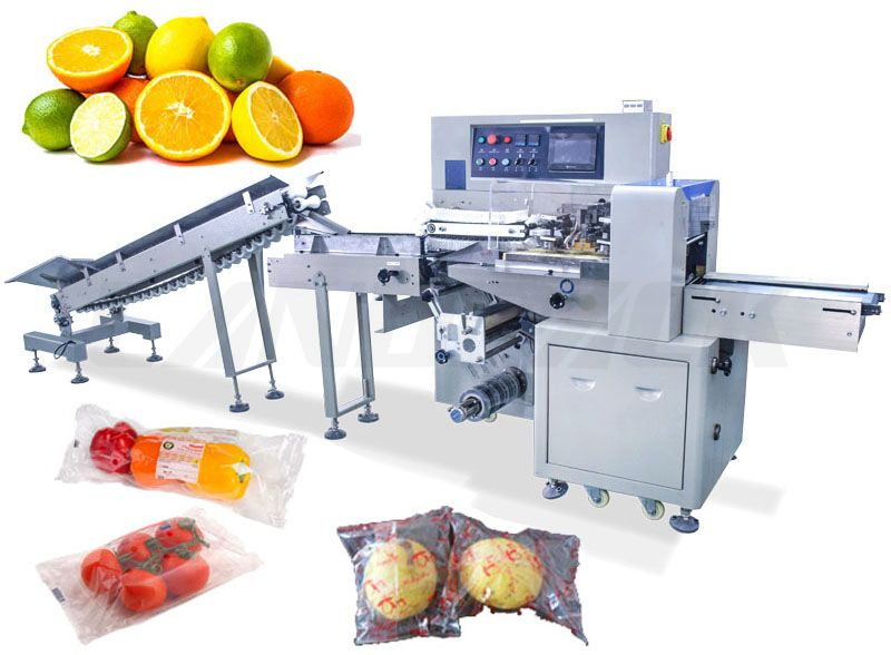 Automatic Spherical Fruit And Vegetable Packing Machine for Orange Lemon etc