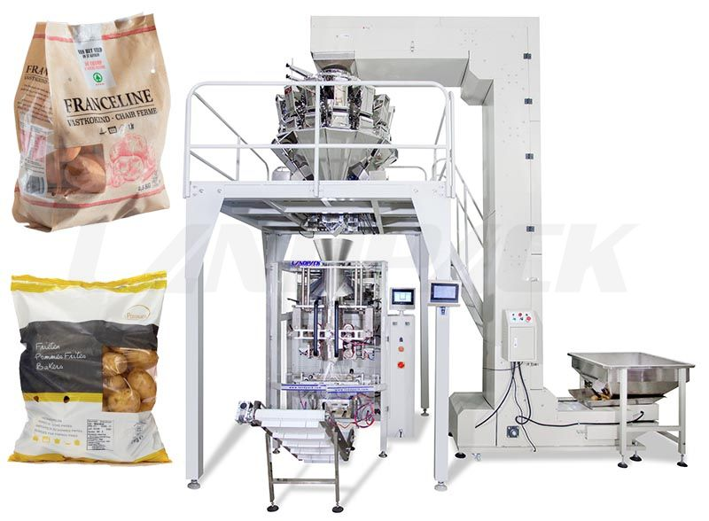 Full Automatic Potato Multihead Weigher Packing Machine