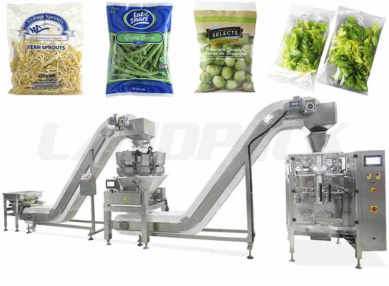 Full Automatic Vegetable Weighing and Packing Machine