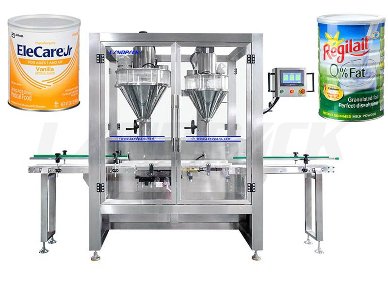 Multifunction Automatic Powder Filling Machine 99.9% Filling Precision
