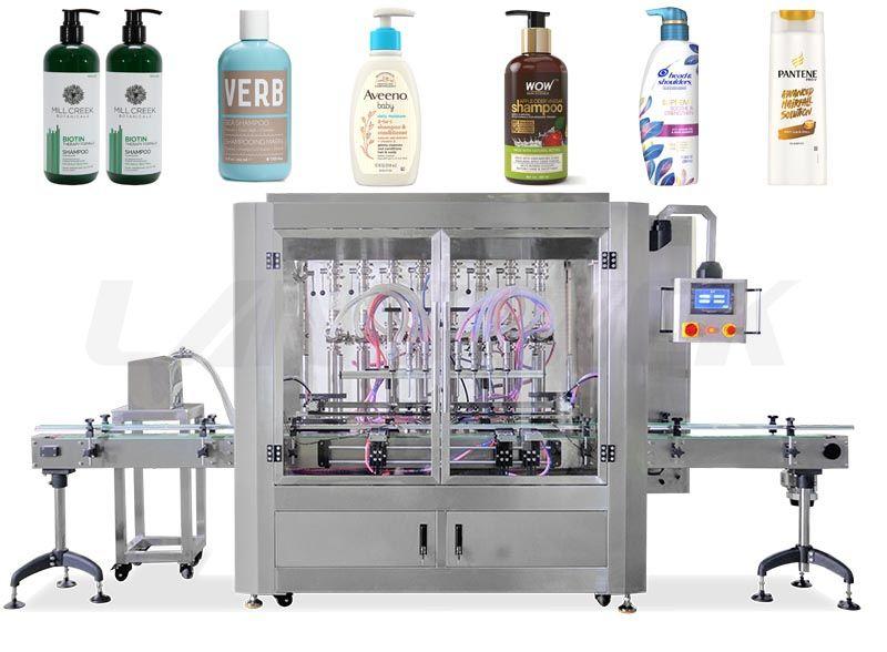 Automatic Servo Motor Liquid/ Shampoo Bottle Filling Machine
