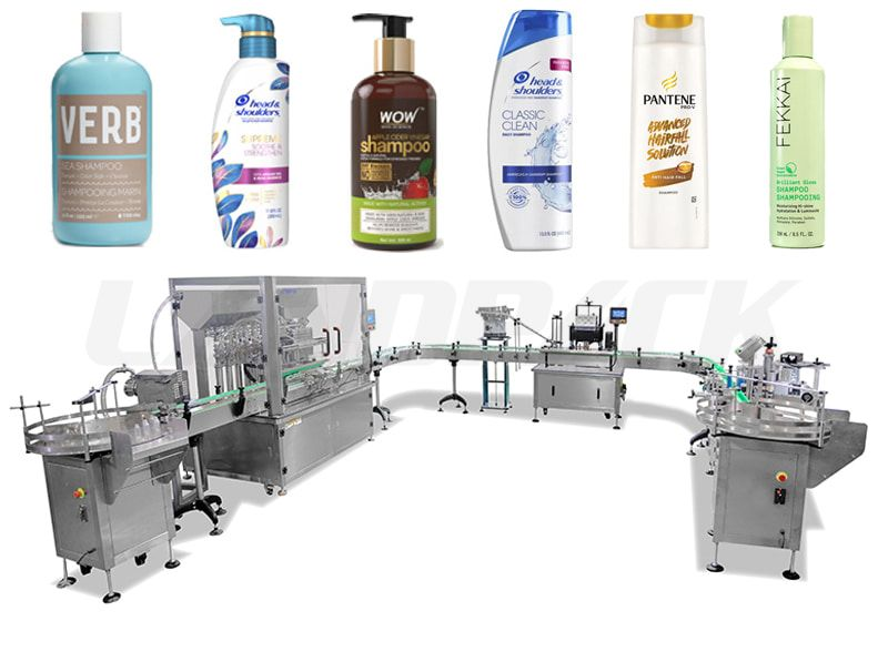 Automatic Liquid Bottle Filling Capping And Labeling Line