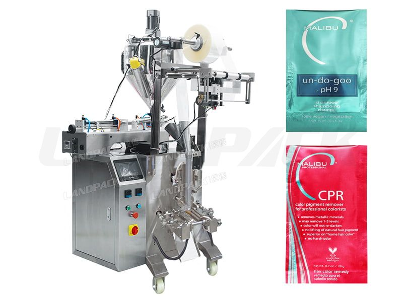 Automatic Liquid/ Shampoo 3 Sides Sealing Sachet Packing Machine