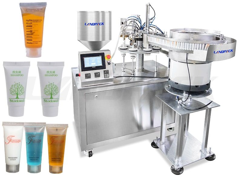 Automatic Shampoo Tube Filling And Sealing Machine