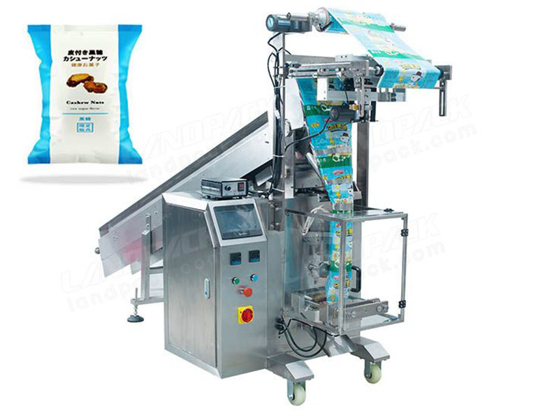 Semi-Automatic Packing Machine With Chain-type Batchers for Nuts, Peanut, Beans etc