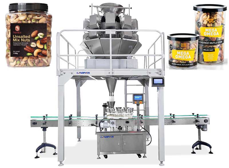 Automatic Granule Weighing Filling Machine