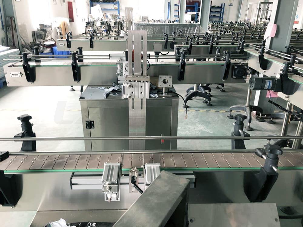 particle filling machine